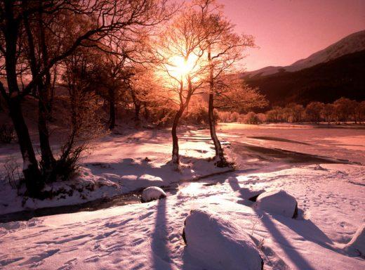 massage en hiver