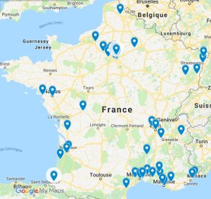 carte massage à domicile Septembre 2018
