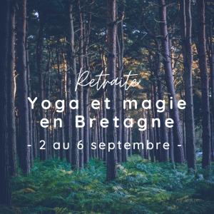 yoga et magie en Bretagne